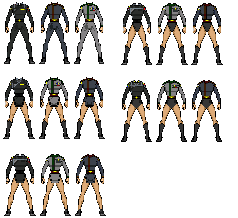B5FemaleUniforms